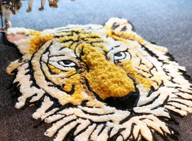 Ukážka kordovania - tiger